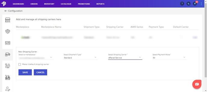 Shipping management_eParcel
